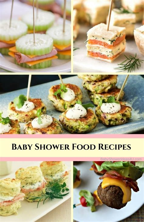Baby Boy Shower Recipes by Easy Baby Shower Food Recipes Baby Shower Ideas Themes