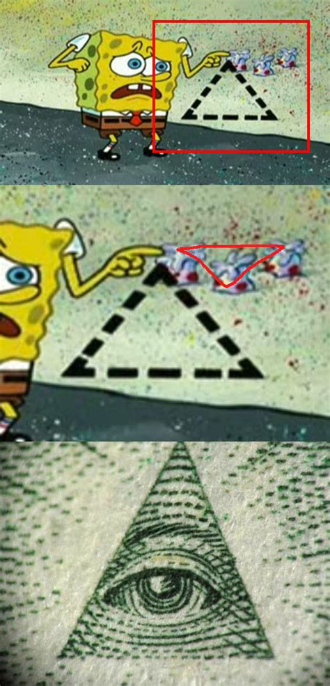 Illuminati Triangle Meme - teh iluminatee the illuminati know your meme