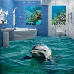 Bedroom Bathroom Sea World Cute Bubble Dolphin Diy Wall Stickers » New Home Design