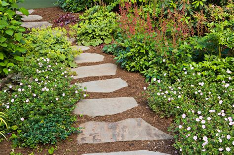 garden walkways garden paths new jersey cording landscape design