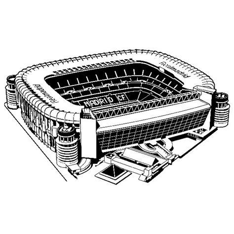 Draw Plans estadio santiago bernab 233 u