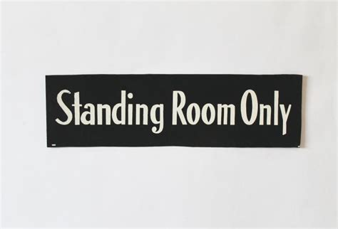 what does standing room only vintage standing room only stay omero home