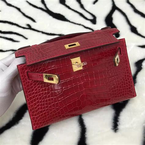Herms Skin Mini Sling Bag new fashion hermes crocodile skin mini bag s handbag ck95 hermes