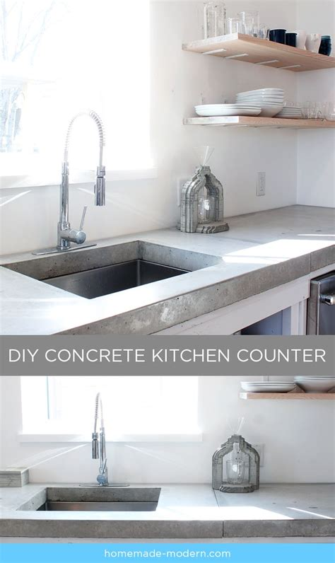 best kitchen countertops for the money best 25 concrete kitchen countertops ideas on