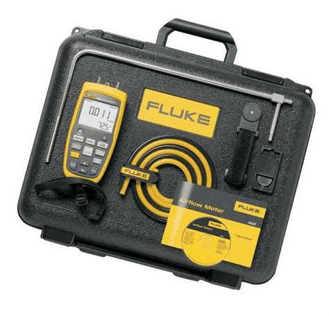 Fluke 922 Kit Airflow Meter Kit Micromanometer Micro Manometer fluke 922 air flow meter digital micromanometer from cole parmer united kingdom