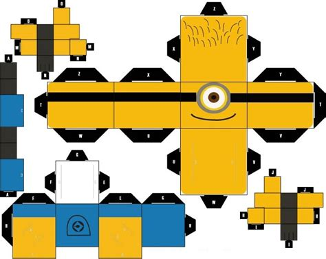 Papercraft For - all minions papercraft papercraft toys arte de papel