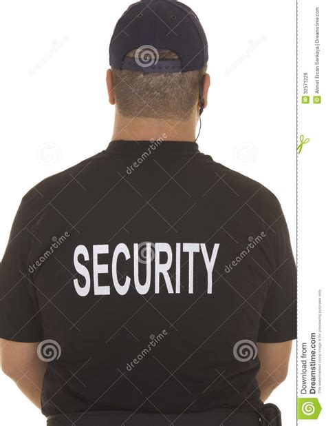 security guard royalty free stock image image 32571226