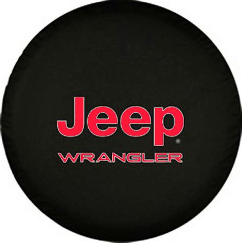 spare tire cover for jeep wrangler 30 quot 31 quot spare tire cover jeep wrangler logo 16inch