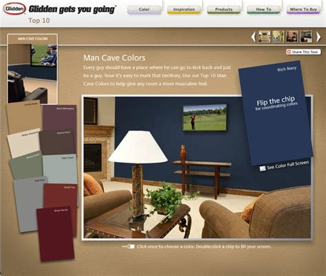 color palette glidden paint navy baby things