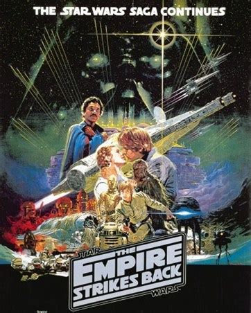 Buy Wall Murals Online the star wars saga continues the empire strikes back