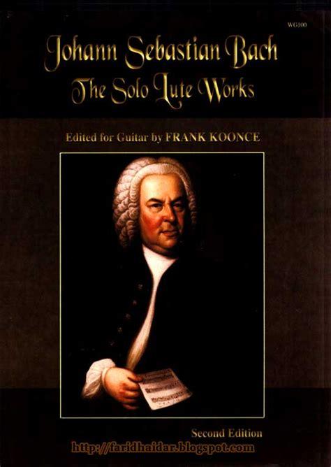 J S Bach classical guitar j s bach transcriptions for guitar