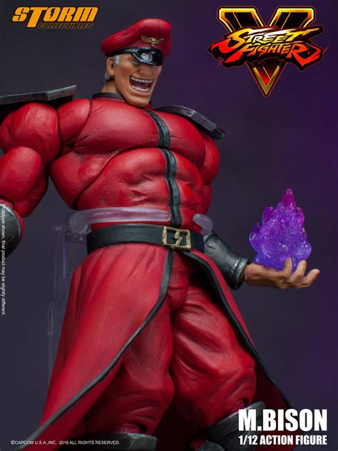 m bison figure preview collectibles fighter v m bison the