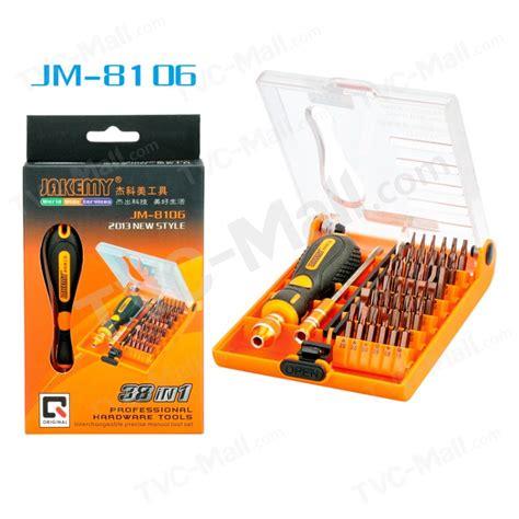 38 In 1 Laptop Mobile Phone Repair Tools Kit Precise Screwdriver Set H jakemy jm 8106 38 in 1 precision screwdriver set
