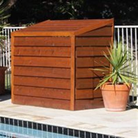Pool Filter Shed by Enclosure On Pools And Propane Tanks