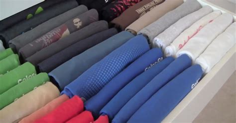Folding Clothes In Drawers by How To Increase Your Clothes Drawer Storage By Up To 50