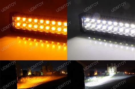 120w High Power Led Light Bar For Ford F 250 F 350 Super Duty Dual Color Led Light Bar