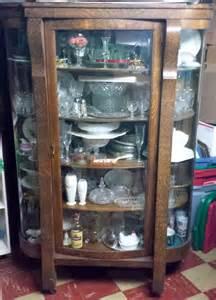 antiquehaven ebert furniture company china closet cabinet