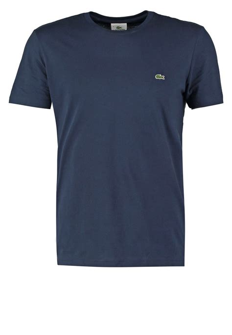 T Shirt Lacoste It 0 2 lacoste t shirts basic navy blue zalando dk