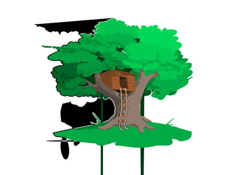 tree house clipart tree house clip art vector clipart panda free clipart images