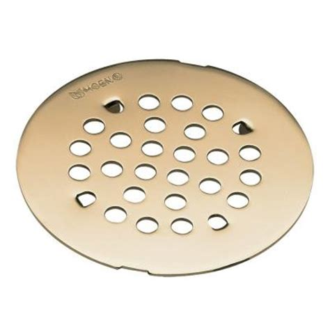 moen tub shower drain covers in antique bronze 101663az