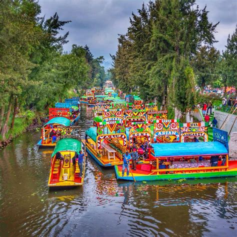 embarcadero nativitas xochimilco mexico city mexico
