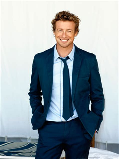 blond hair actor in the mentalist simon baker interview quotes from actor simon baker