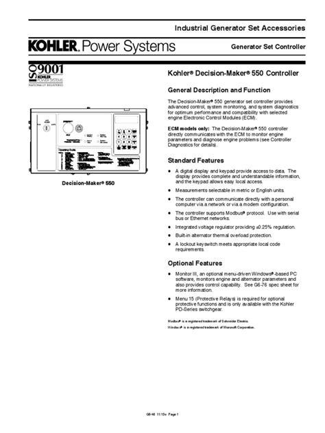 decision maker 550 controller manual wiring diagrams