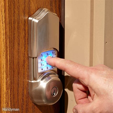 Smart Front Door Locks All About Smart Door Locks Keyless Entry Bluetooth And More The Family Handyman