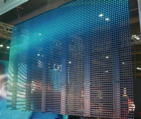 flexible led video curtain flexible led curtain p12 5 in shenzhen guangdong china