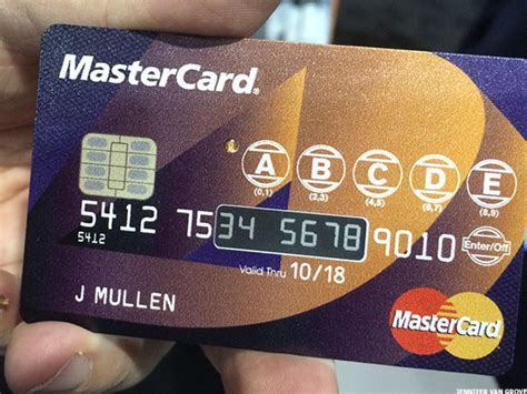 MasterCard Announces a Credit Card Even A Security Fanatic Can Love   TheStreet