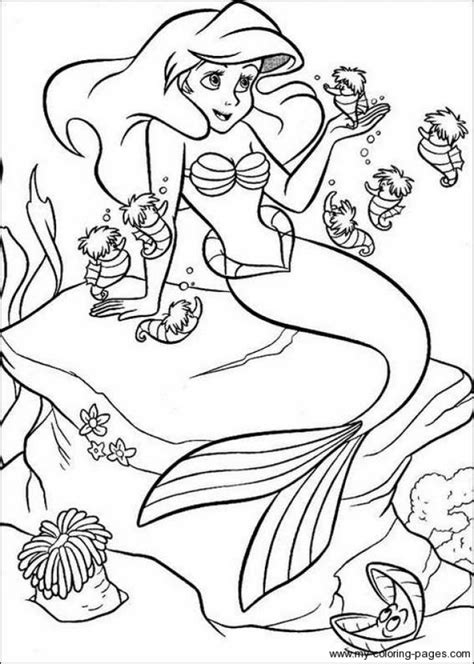 printable coloring pages little mermaid get this little mermaid coloring pages for girls 31708