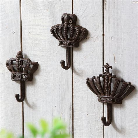 Wall Hooks For Hanging Clothes Fashion Iron Hook Decorative Vintage Wall Door After The