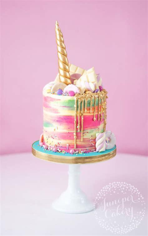 Rainbow Buttercream Uk15 1 rainbow buttercream unicorn cake by juniper cakery cakes only unicorns rainbows