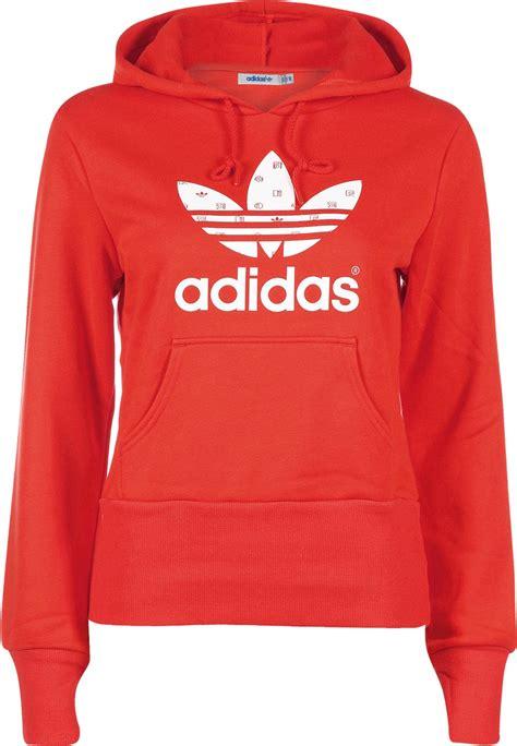 Sweater Wanita Adidas 03 White adidas trefoil w hoodie white