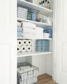 bathroom closet ideas organized bathroom closet simply organized