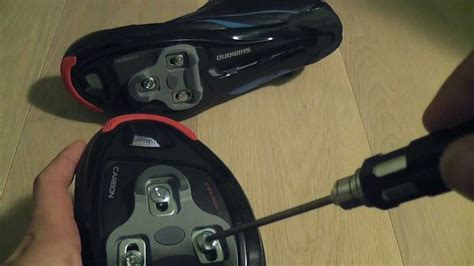 how to install cleats on road bike shoes installing look keo grip cleats on shimano shoes