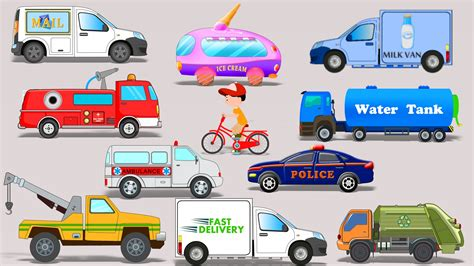 car toy for kids street vehicles toy car video for kids learn