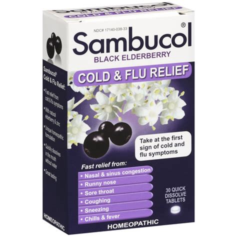 Dijamin Sambucol Cold And Flu sambucol black elderberry cold flu relief dissolve