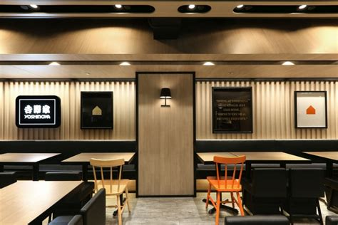 Home Interior Photography by Yoshinoya Fast Food Restaurant By As Design Service Hong