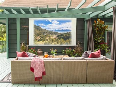 how to make a backyard screen how to make your own screen hgtv