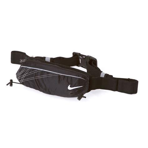 Waistbag Nike Black White 04 nike lightweight running slim waist pack fitness accessory