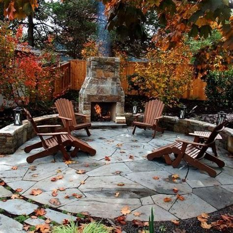 Circular Outdoor Fireplace by 25 Best Ideas About Circular Patio On