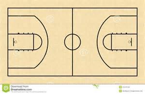 basketball court floor plan basketball court stock photography image 31570142
