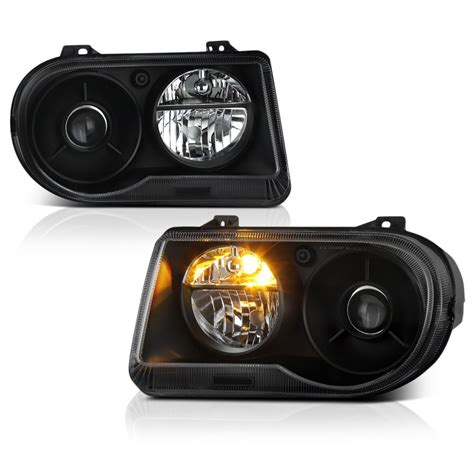 Chrysler 300c Headlights by 2005 2010 Chrysler 300c Replacement Projector Headlights