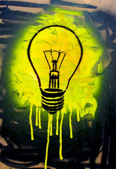 graffiti street art artistic lighting