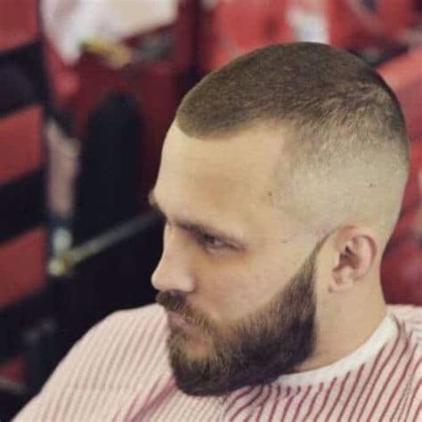 coupe de cheveux homme barbe 50 buzz cuts for menhairstylist