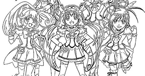 glitter force coloring pages  custom pinterest