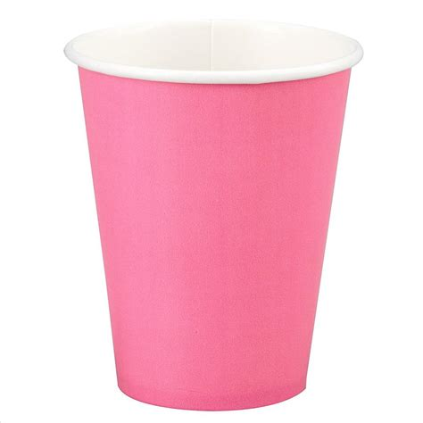 A Paper Cup - pink paper cup 12oz