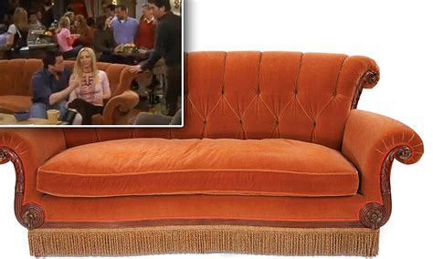 will couch friends central perk coffee shop sofa goes under the