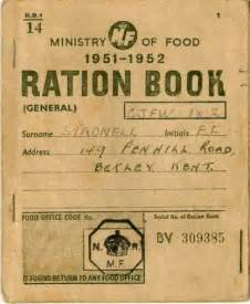 rationing book template plumstead stories
